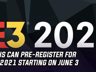 Fans can pre-register for E3 2021 starting on June 3