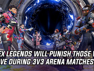 Apex Legends will punish those who leave during 3v3 Arena matches