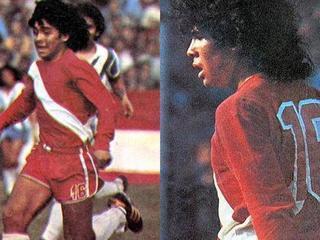 Hace 40 años debutó en el fútbol profesional Diego Maradona