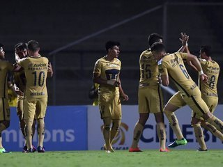 Pumas aplasta 8 - 1 a W Connection y Honduras Progreso queda fuera