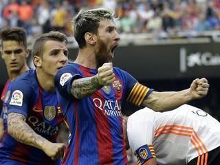 Los 7 goles de Messi marcados en la Liga de España vistos en 1 minuto