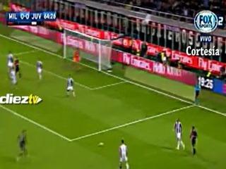 El Milan se queda con el gran clásico contra Juventus