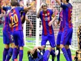 Simpatizantes del Real Madrid se burlan del Barcelona y publican parodia del botellazo