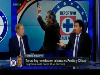 Hugo a José Ramón en tensa discusión: