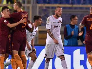 Roma golea al Palermo y se acerca a dos puntos de la Juventus