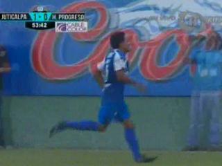 Jorge Cardona anota a los 54 minutos el empate 1-1 ante Juticalpa