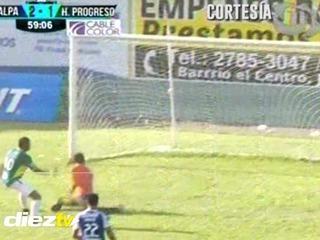 Ovidio Lanza pone el 2-1 de Juticalpa sobre Honduras Progreso