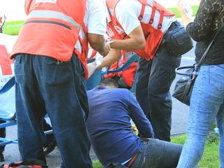 Barras de Olimpia y Motagua arman el caos en el Nacional