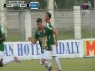 Israel Silva anota para Marathón el 1 - 2 ante Real Sociedad