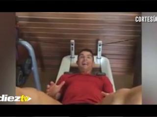 Cristiano Ronaldo y su extraña forma de hacer ejercicio