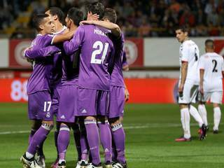 Real Madrid receta paliza a modesto Cultural Leonesa en Copa del Rey