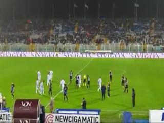 Dos temblores obligan a detener unos minutos el Juego entre Pescara vs Atalanta