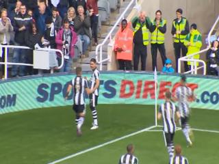 Golazo del Newcastle: la tocaron los 11 jugadores del equipo