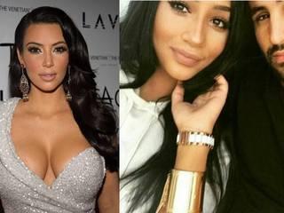 El increíble parecido de la mujer de Riyad Mahrez con Kim Kardashian