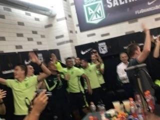 Atlético Nacional le dedicó la victoria y la clasificación a semifinal a Chapecoense