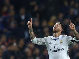 Así se vió el gol de Sergio Ramos ante el Barcelona desde la gradería del Camp Nou