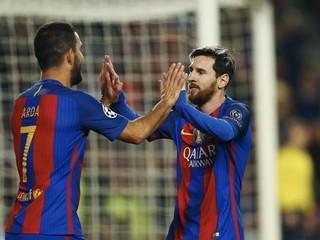 Paliza del FC Barcelona y Messi se quedó con las ganas del récord
