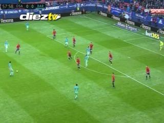 Barcelona golea 3-0 de visita al Osasuna