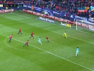 El maravilloso gol de Lionel Messi al Osasuna