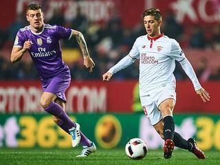Sevilla entierra racha del Real Madrid tras derrotarlo 2-1 en casa