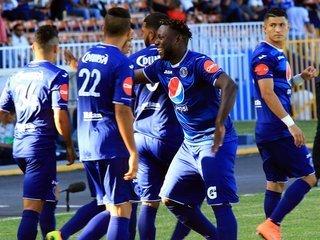 El campeón Motagua recupera la sonrisa y golea al Honduras Progreso