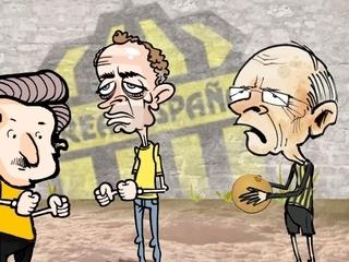 DIEZ-CÓMICS: Así fue la llegada de Ramón Maradiaga al Real España