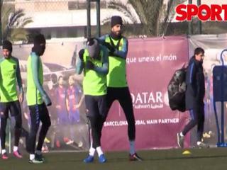La broma de Luis Suárez y Neymar a Gerard Piqué