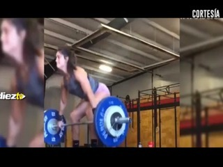 Una mujer trató de levantar más peso del que podía y sufrió las consecuencias