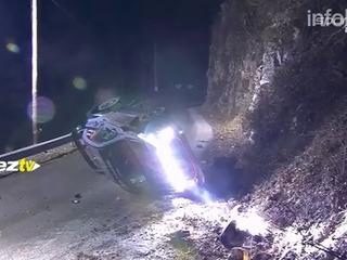 Tragedia en el rally de Montecarlo: volcó un auto y mató a un espectador