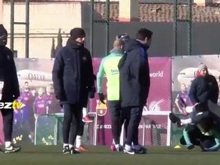 Otra travesura de Luis Suárez y Neymar: le hicieron una broma infantil a Piqué