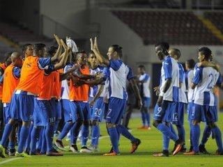 La Selección de Honduras empata frente a Costa Rica