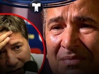 Jorge Luis Pinto rompe en llanto por polémica con
