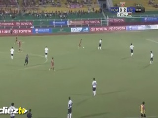 La Insólita protesta de futbolistas en Vietnam que se viralizó en internet