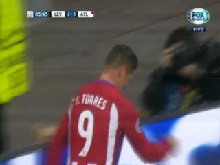 ¡GOOOOL DEL ATLÉTICO! Torres marca el  4 - 2