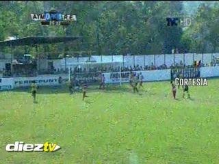 ¡GOOOL DE REAL ESPAÑA! Al minuto 25 Álvaro Romero pone a ganar a su equipo ante Atl. Municipal.