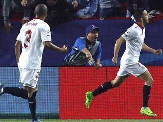Los goles de Sevilla contra el Leicester en Champions League