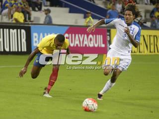 Honduras cae 1-3 ante Ecuador en amistoso internacional (resumen completo)