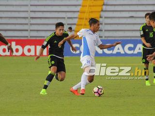 Honduras cae 1-0 contra México en el Pre-Mundial 2017 (resumen)