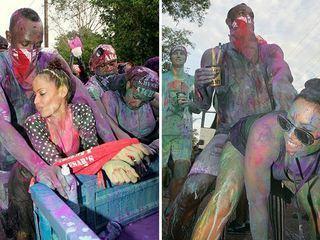 Usain Bolt y su baile erótico en un festival brasileño
