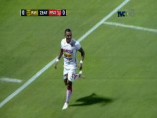 ¡GOOOOOLLL DE LA REAL SOCIEDAD! Ronny Martínez anota el 0-1 ante Real España
