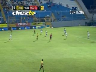 ¡GOOOOLLLL DEL REAL ESPAÑA! Nicolás Cardozo anota el empate ante Real Sociedad
