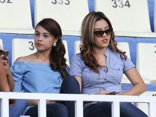 Las chicas hermosas que fueron a alentar al Motagua contra el Social Sol en el Nacional