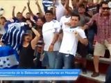 Primer entrenamiento de la Selección de Honduras en Houston