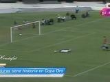 Honduras marcó el primer gol en la historia de Copa Oro