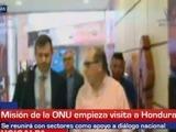 Misión de la ONU inicia visita a Honduras