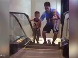 El miedo a utilizar las escaleras eléctricas en China
