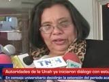 Rectora de la Unah confirma diálogo con estudiantes