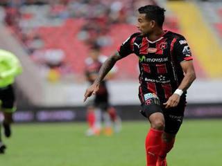 Gol de Carlos Discua en Costa Rica