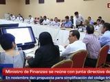 Ministro de Finanzas se reúne con empresarios sampedranos