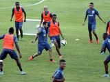 Honduras entrenó en San Pedro Sula